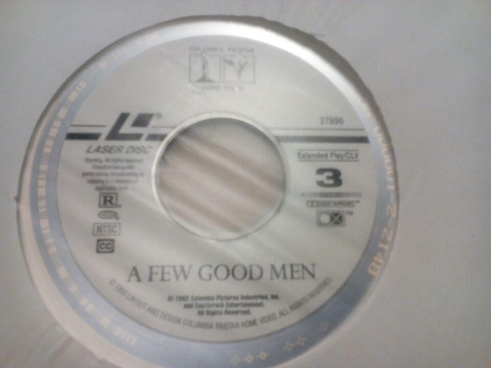 A few good men, Laserdisc film, andet