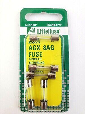 5 Bussmann Fuse Full Pack AGX 20