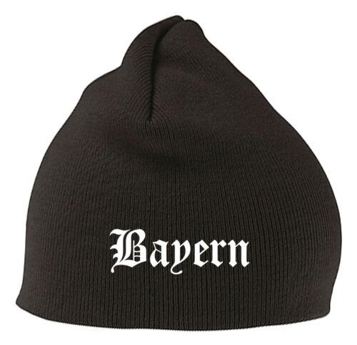 Baviera Berretto Beanie-elegante ricamato-STITCH-LEGA FEDERALE CALCIO FAN