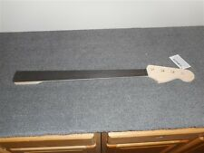 NEW - Fender Jazz Bass Neck, Fretless, No Lines, No Finish, #JEO-F