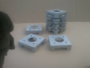 Post Base for 6x6 Post and column MADE IN USA Pack of 2