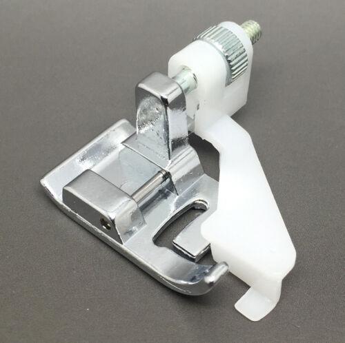 Ciego Dobladillo Pie Ajustable para máquinas de coser doméstica Snap On Pie Prensatelas Puntada