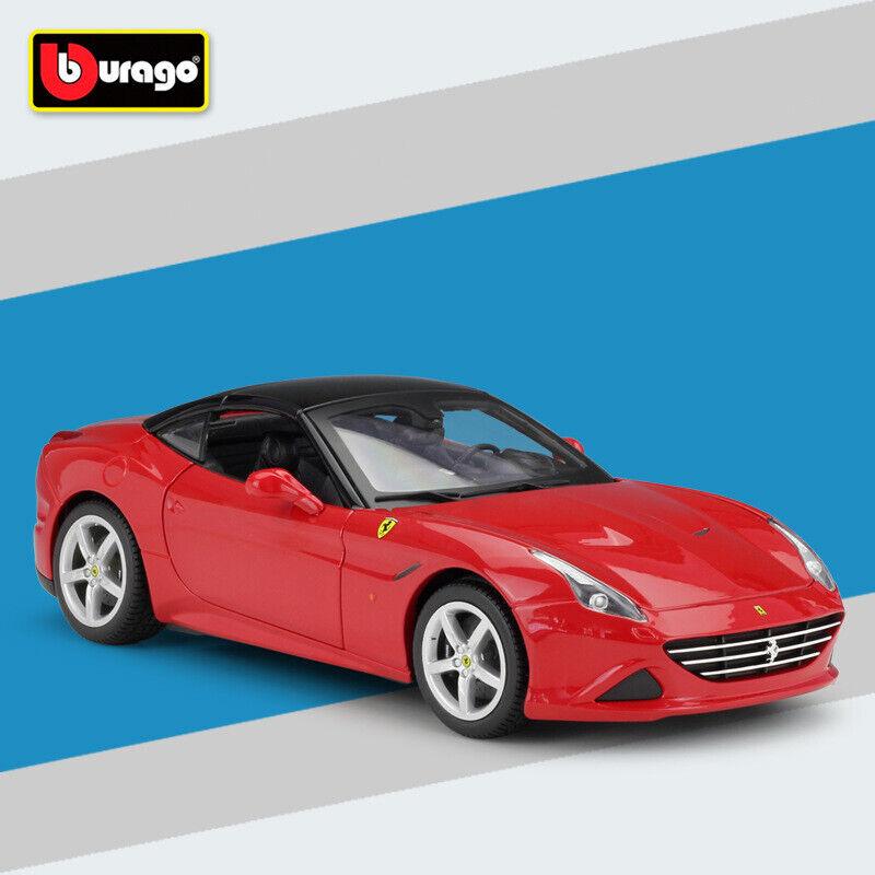 Bburago 1 18  Scale Ferrari California T ( Closed Top)Collectable voiture Diecast  magasin fashional à vendre