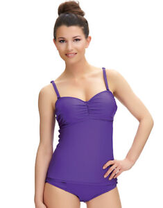 9205669808 Image is loading FANTASIE-FS6195-LOS-CABOS-BANDEAU-TANKINI-TOP-IN-