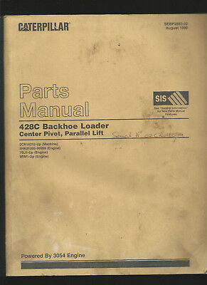 Industrial Media Caterpillar 428c Backhoe Loader Parts Manual August 1999 Available In Various Designs And Specifications For Your Selection
