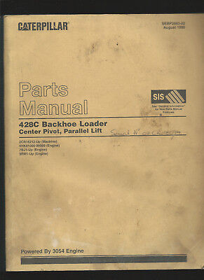 Industrial Caterpillar 428c Backhoe Loader Parts Manual August 1999 Available In Various Designs And Specifications For Your Selection Media