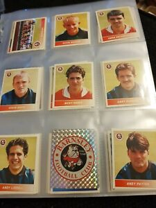 PANINI-FOOTBALL-LEAGUE-96-stickers-Finissez-votre-album-tres-bon-etat-original-stickers