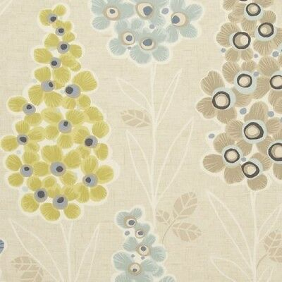 Clarke and Clarke Mustique Mineral Floral Design Curtain Upholstery Craft Fabric