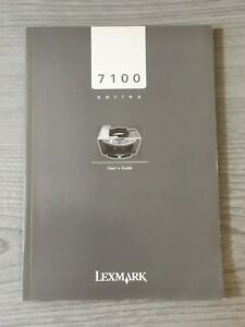 Lexmark-Printer-7100-Series-Instruction-Manual-Book-User-Guide-Help-Guidance