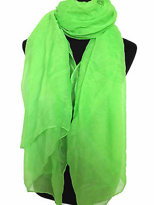Oversize Large Plain Solid Color Scarf Shawl Wrap Hijib Ladies Gift Accessories