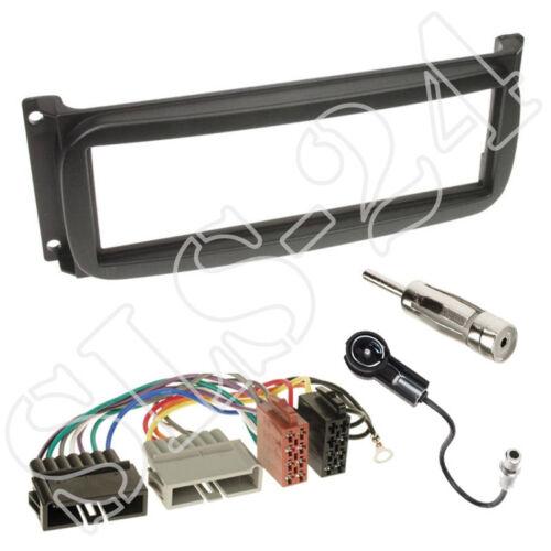 Chrysler Grand Voyager diafragma adaptador ISO cable antena Conector Radio