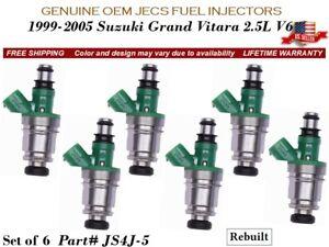 *LIFETIME WARRANTY* Genuine Chevrolet Suzuki 2.5L V6 Fuel Injector OEM JS4J-5