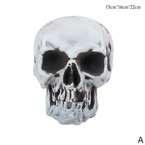 Halloween Horror Skeleton Dekor Scary Head Bones Schädel Outdoor Dekor Indo U5U1