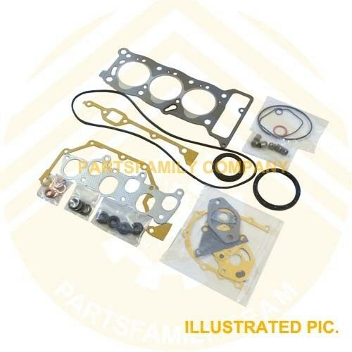 SINOCMP Excavator Parts for Mini-Excavator and Skid Steer Loader Isuzu Engine 3 Month Warranty 3KC1 PA Engine Gasket Kit