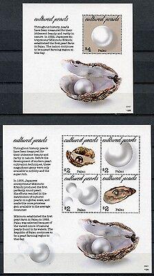 Palau 2013 Perlen Perlenzucht Cultured Pearls Postfrisch MNH