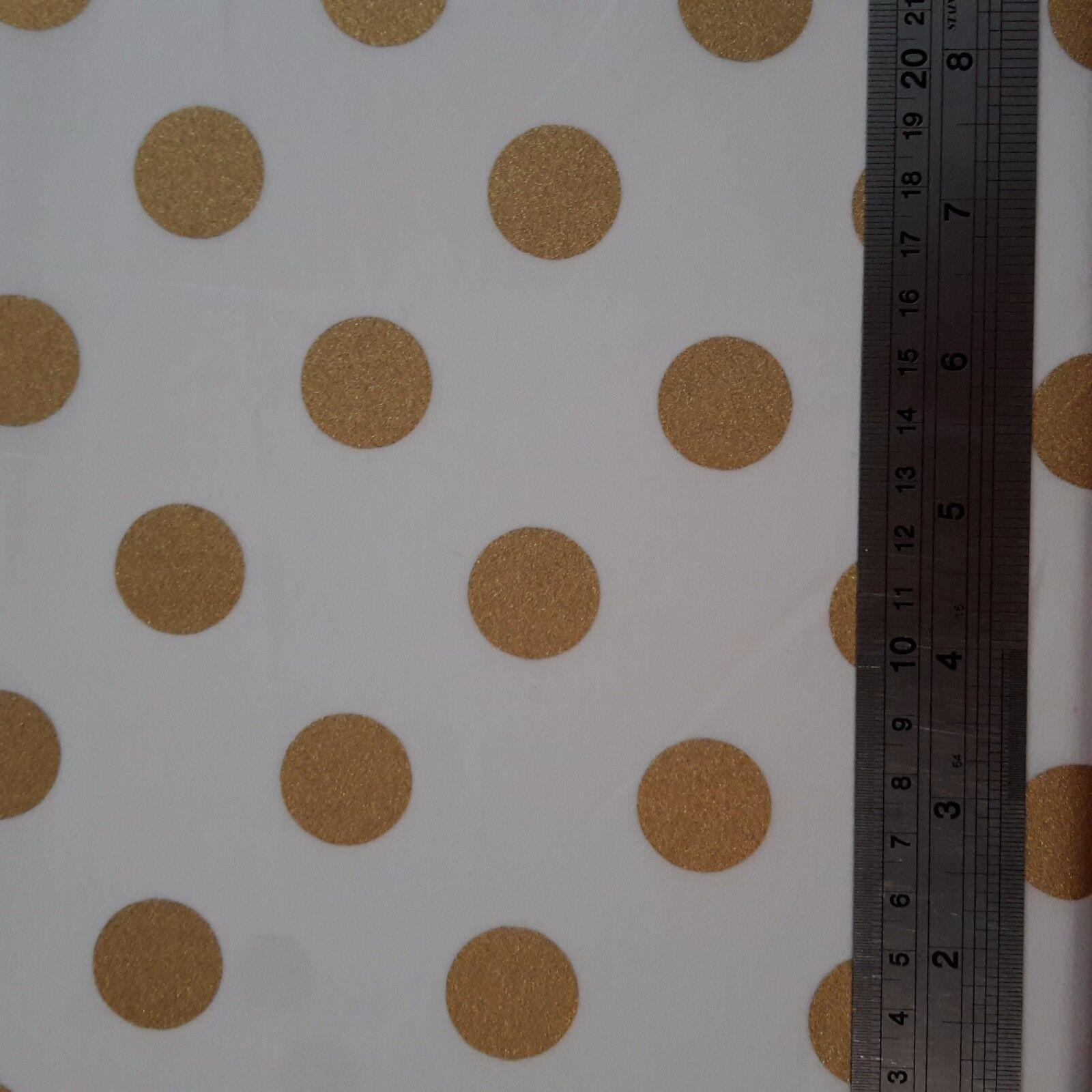 100/% cotton Fabric Stardust Flowers Natural Beauty Black//Gold Metallic