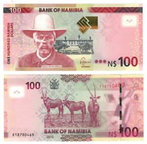 NAMIBIA-100-Dollars-2012-P-14