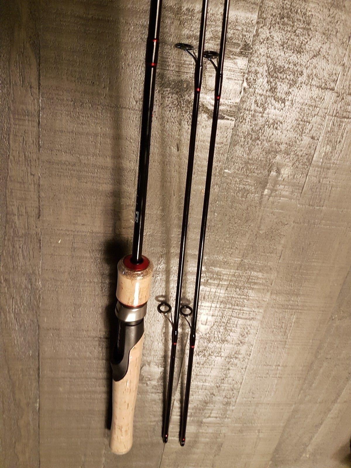 1.8m UL Spoonrute 2 Spitzen Spitzen Spitzen 0.8-5g   0.8-8g Spinnrute ul Light Rute Japanblinker 61c52d
