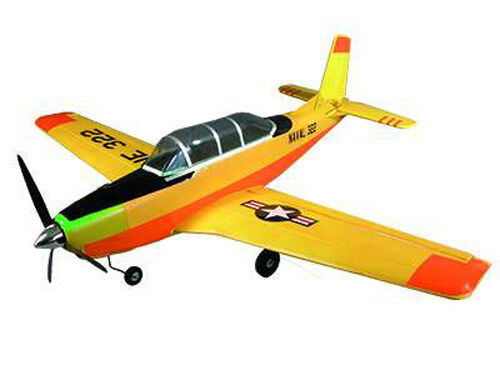 RC avión motor avión t-34 mentorn brushless brushless brushless 4 canal sw 880mm 450g nuevo 176f58