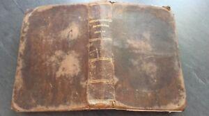 Diccionario de La Lengua Francaise Navidad-Chapsal 1837 París Roret ABE