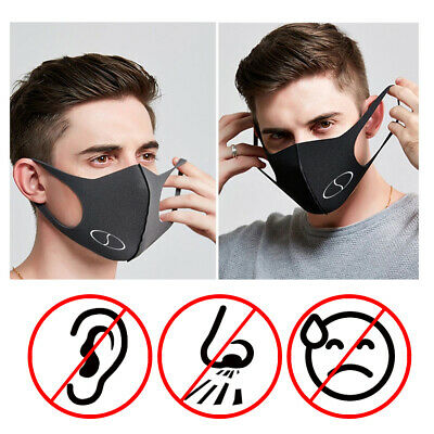 Easy Breathing Workout Face Mask Non Fibrous Prosane 5 Reusable Ear Friendly