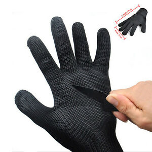 Cut Proof Stab Resistant Stainless Steel Wire Metal Mesh Butcher Gloves Safety