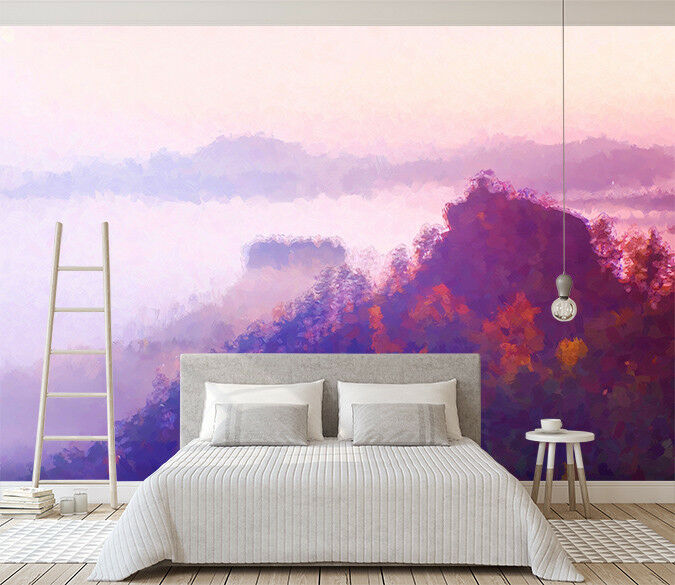 3D rot Woods 86 Wall Paper Exclusive MXY Wallpaper Mural Decal Indoor