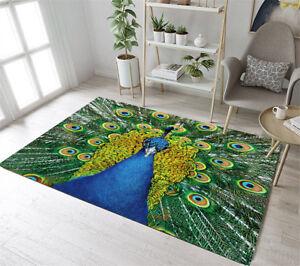 Peacock-Area-Rugs-Forest-Queen-Living-Room-Carpet-Home-Decor-Bedroom-Floor-Mat