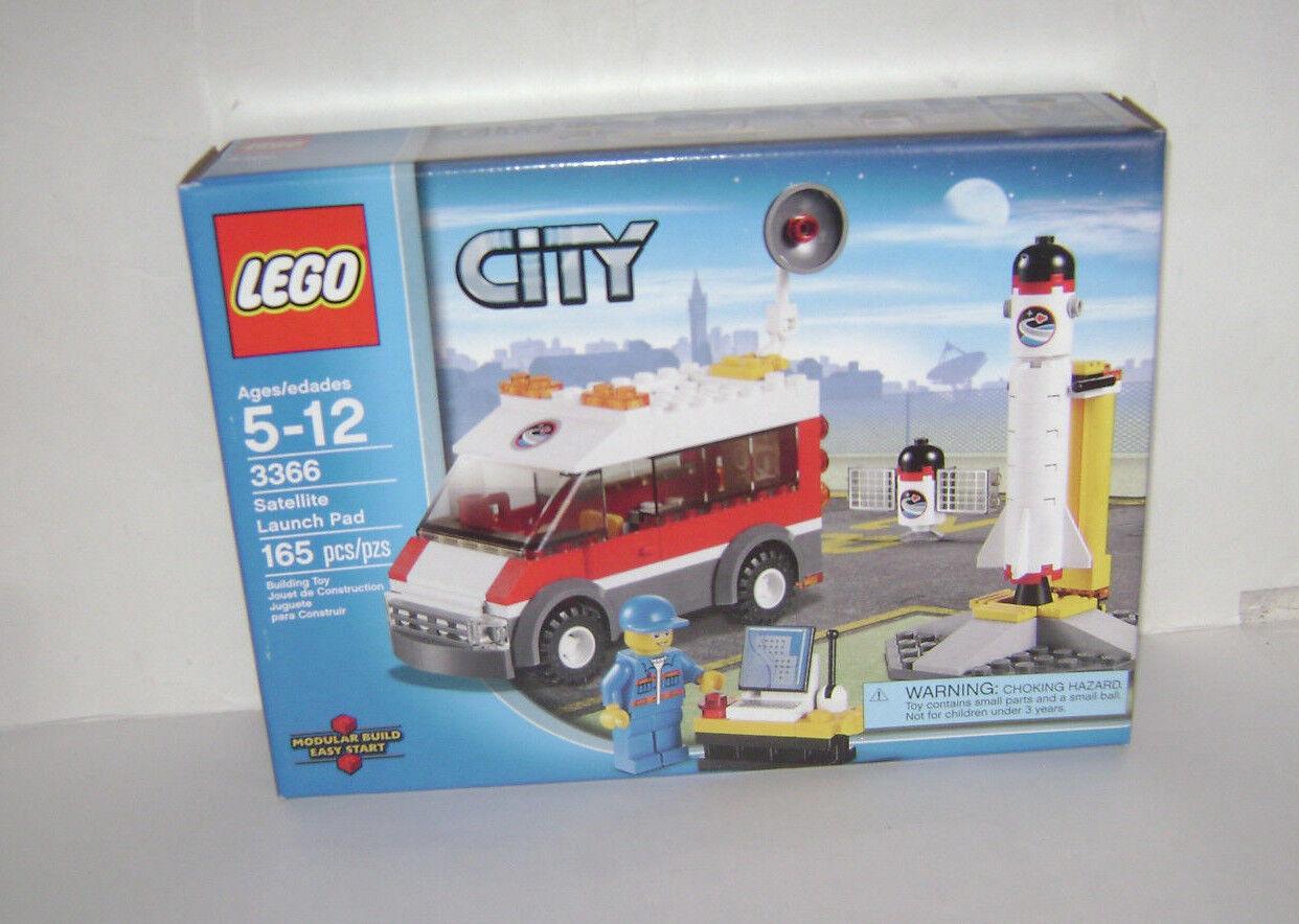 compra meglio Nuovo 3366 Lego città Satellite Launch Launch Launch Pad costruzione giocattolo SEALED scatola RETIrosso RARE A  supporto al dettaglio all'ingrosso