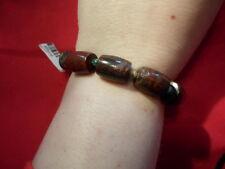 Coffe Bean Jasper Bracelet (Stretchable) - 7 inches - 194.00 Carats