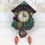 thumbnail 1 - Cuckoo Bird Clock House Wall Hanging Clock Art Home Decor Swing Wall Alarm