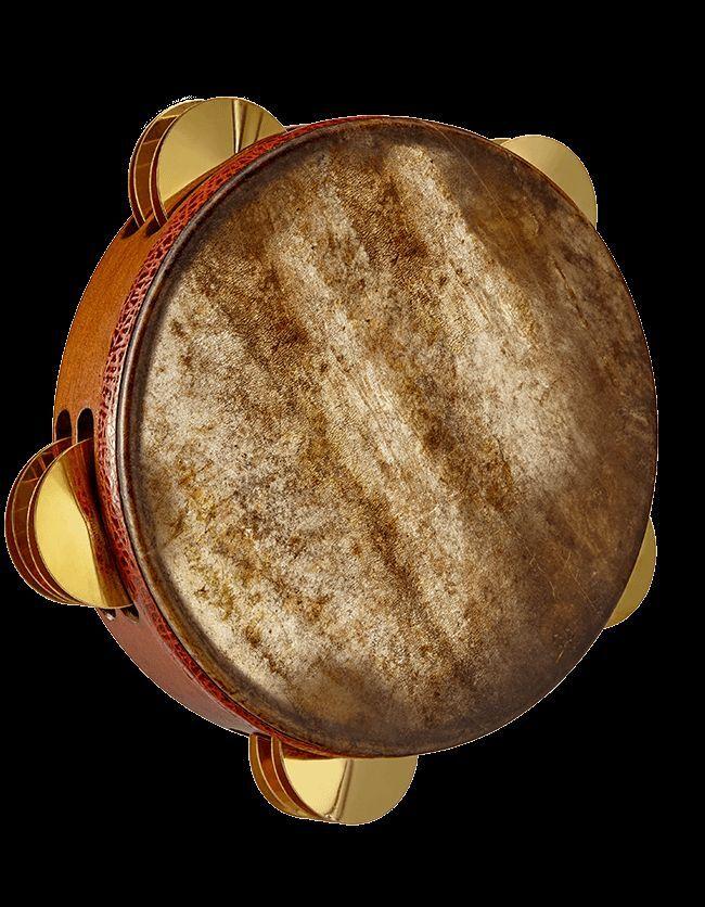 Professional Emin Percussion Fish Skin Riq Tef Tambourine Def Drum EP-004-A