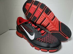 Mens Nike Free RN 7.0 low Trainer Athletic Shoes Size 14 524311-16  Black Red A8