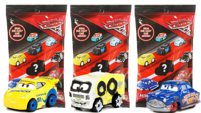 Disney Pixar Cars 3 Die Cast Mini Racers 15 16 17 Dinoco Arvy