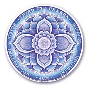 Pozostałe Mandala Arts Window Sticker Double Sided Sacral Chakra 11.7cm
