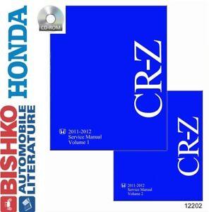2011-2012-Honda-CR-Z-Shop-Service-Repair-Manual-CD-Engine-Drivetrain-Wiring-OEM