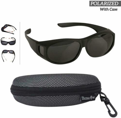 Cover For Regular Eye Glasses and Prescription Polarized Wear Over Sunglasses