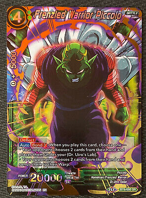 Frenzied Sister DB1-011 C Dragon Ball Super TCG NEAR MINT x4 Kale
