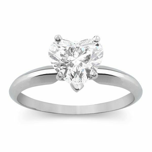 Engagement & Wedding 14k Solid Yellow Gold Solitaire Engagement Wedding Promise Ring 1.25 Ct Diamond Strong Packing