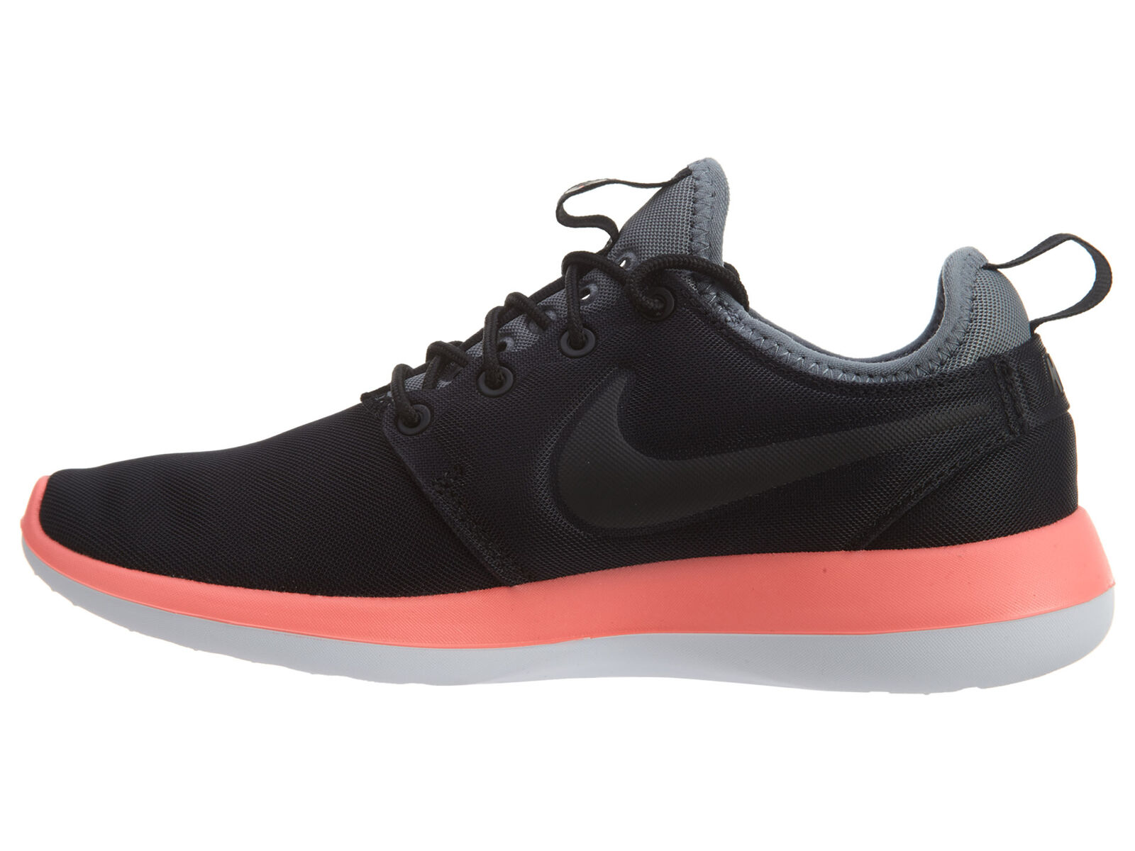 Nike Roshe Two Womens 844931-006 Black Lava Grey Textile Running Running Running shoes Size 6.5 e3c9c3