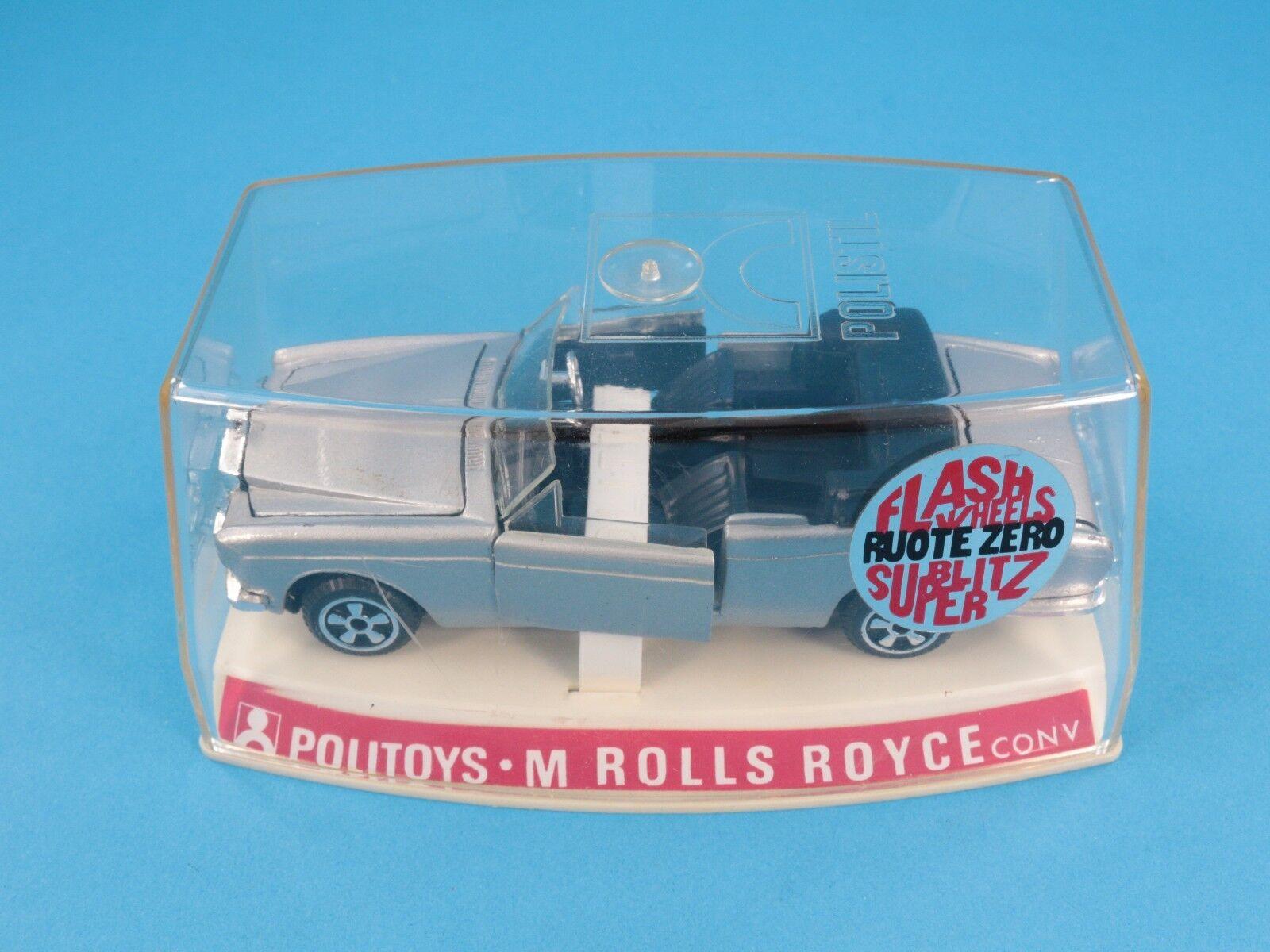 1 43 Politoys M Nº 593 Roll Royce Congreenible - 1 ° 1969 Series-Boxed [ot3-015]