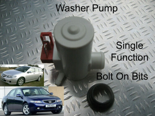 Front Windscreen Washer Pump Grommet Connector T Pipe 4mm Honda Accord 2003-2008