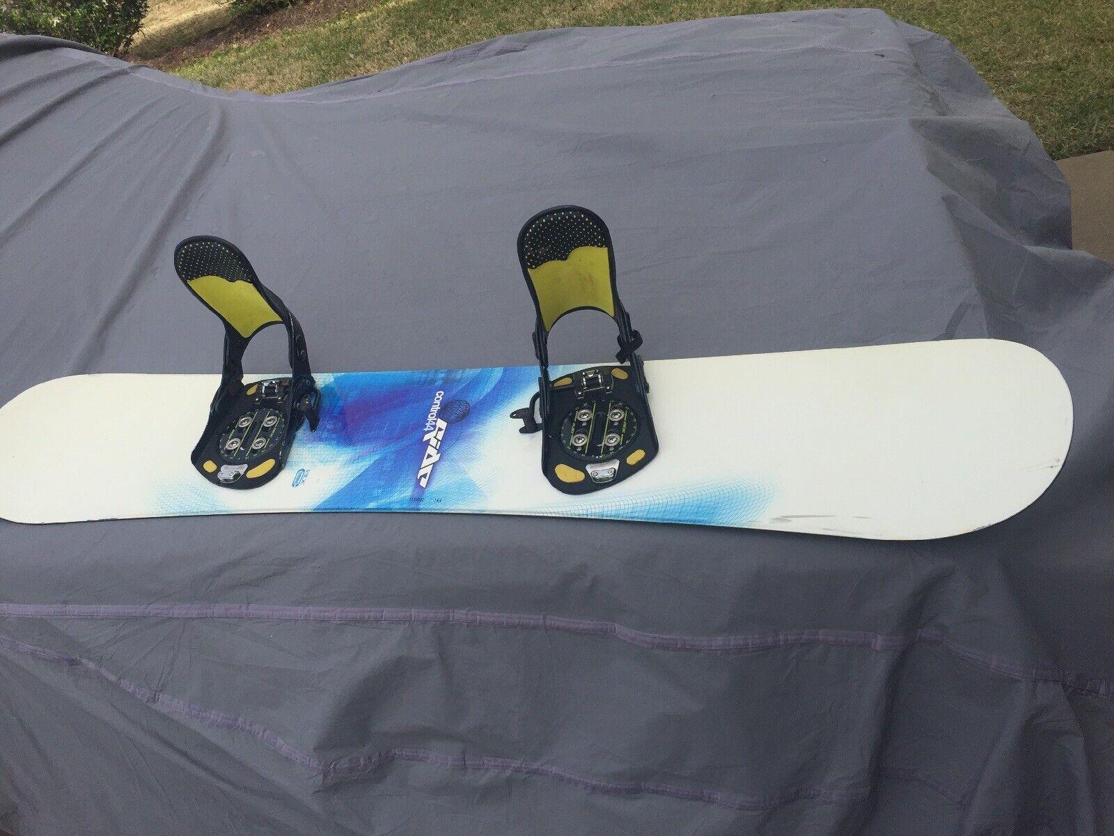 Ride Control 44 Board With Ride E Series Bindings