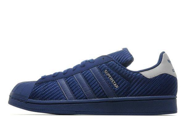 Adidas Originals Superstar homme Entraîneur (Variable Tailles) Bleu Brand New dans Box-