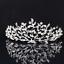 Bridal-Princess-Party-Crystal-Tiara-Wedding-Crown-Veil-Hair-Accessory-Headband thumbnail 18