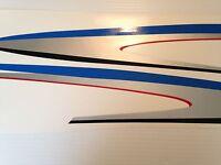 Yamaha 40 / 50 / 60 Hp Outboard Swish Side Decal Set