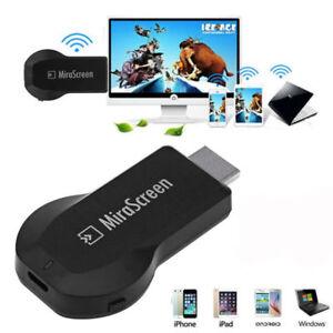 4K Wireless WiFi Display TV Dongle Receiver Mirascreen Media Airplay Miracast