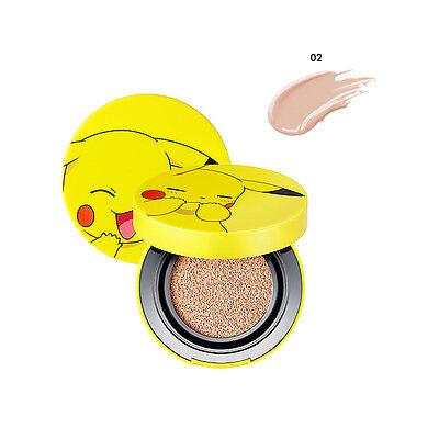 TONYMOLY Pokemon Pikachu Mini Cover Cushion #2 Warm Beige SPF50+ PA+++