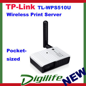 TP-Link-TL-WPS510U-Wireless-Print-Server-150Mps-Atheros-2-4GHz-802-11g-b