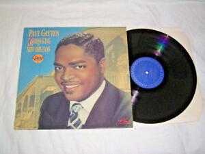 LP-Paul-Gayten-Jeu-d-039-echecs-King-Of-La-Nouvelle-orleans-UK-1989-unplayed